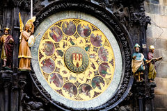 Astronomical Clock (Orloj) in the Old Town of Prague Royalty Free Stock Photo