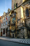 Astronomical Clock (Orloj) in the Old Town of Prague. Czech Repu Stock Image
