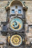 Astronomical Clock (Orloj) in the Old Town of Prague Royalty Free Stock Images