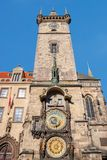 Astronomical Clock (Orloj) in the Old Town of Prague. Royalty Free Stock Photography