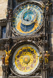 Astronomical Clock Orloj in Prague Royalty Free Stock Images
