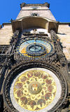 Astronomical Clock Orloj, of Prague Royalty Free Stock Photo