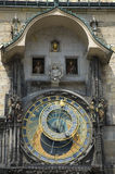 Astronomical clock Stock Image