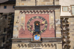 Astronomical clock stock photos