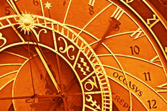 Astronomical clock, Prague Royalty Free Stock Image