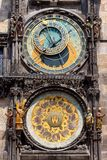 Astronomical Clock. Prague. Stock Images