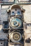 Astronomical Clock in Prague Stock Images