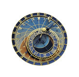 Astronomical clock in Prague Stock Photography