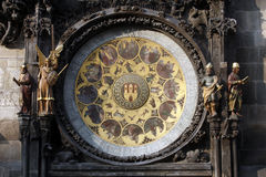 Astronomical clock in Prague Stock Images