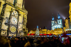 Astronomical Clock. Prague. Royalty Free Stock Photo