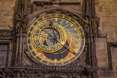 Astronomical clock in prague Royalty Free Stock Image