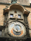 Astronomical clock in Prague. Astronimcal clock in Prague in the Old town square royalty free stock photos