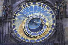Astronomical Clock Prague Stock Photos