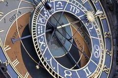 Astronomical clock, Prague. Stock Image
