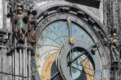 Astronomical clock, Prague. Royalty Free Stock Photo