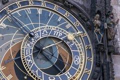 Astronomical clock, Prague. Stock Photography