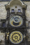 The Astronomical Clock in Prague, CZ Stock Image