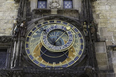 The Astronomical Clock in Prague, CZ Royalty Free Stock Photo