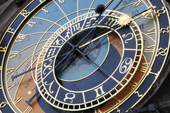 Astronomical clock in Prague, Czech republic Royalty Free Stock Images