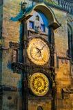 Astronomical Clock in Prague, Czech Republic Stock Image