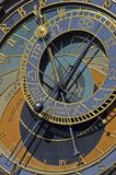Astronomical clock in Prague. Czech Republic Royalty Free Stock Photo