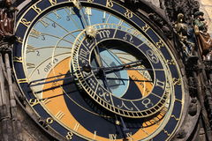 Astronomical Clock on Prague Stock Photography