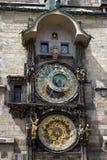 Astronomical Clock - Prague Stock Image