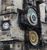 Astronomical clock in Prague, Czech republic Royalty Free Stock Photography