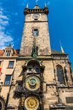 The Astronomical Clock in Prague Royalty Free Stock Photo