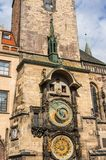 The Astronomical Clock in Prague Stock Images