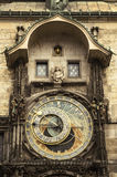 Astronomical clock. Stock Images