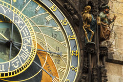 Astronomical clock in Prague, Czech Republic Royalty Free Stock Image