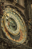 Astronomical Clock in Prague, Czech Republic. Royalty Free Stock Images