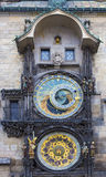 Astronomical Clock Prague Czech Republic Stock Image
