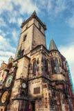 Astronomical clock in Prague, Czech Republic Europe Stock Photography