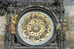 Astronomical clock in Prague, Czech Republic Royalty Free Stock Photos