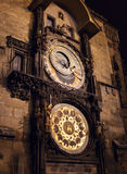 The Astronomical Clock. Prague. Czech republic. Royalty Free Stock Photography
