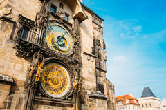 Astronomical Clock In Prague, Czech Republic Royalty Free Stock Photo
