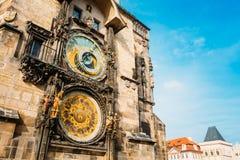 Astronomical Clock In Prague, Czech Republic Royalty Free Stock Photo