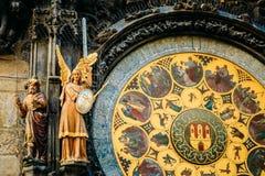 Astronomical Clock In Prague, Czech Republic Royalty Free Stock Image