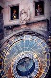 Astronomical Clock in Prague Stock Photography