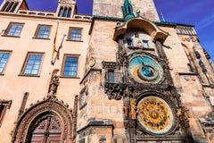 Astronomical Clock in Prague. Stock Image