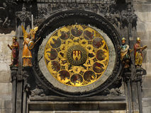 Astronomical Clock Prague Landmark Stock Photos