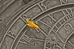 Astronomical clock in Prague Stock Image