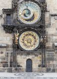 The Astronomical Clock in Prague Royalty Free Stock Photography