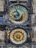 The Astronomical Clock in Prague Stock Image