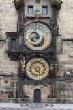 The Astronomical Clock in Prague Royalty Free Stock Photos