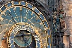 Astronomical clock Prague Royalty Free Stock Photos