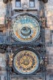 Astronomical clock Prague Stock Photography