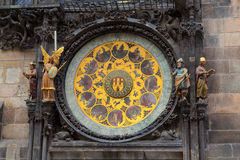 The Astronomical clock in Prague Royalty Free Stock Images
